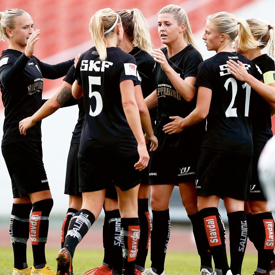 Grattis Kopparbergs FC Göteborg till seriesegern